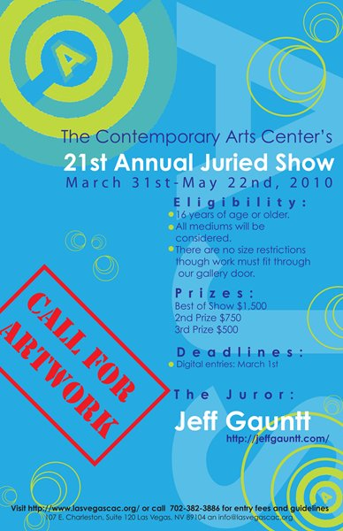 The CAC 21st Annual Juried Show - Call for Artwork
